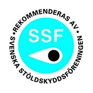 Logo d'agrément aux tests de résistance SSF - Suède