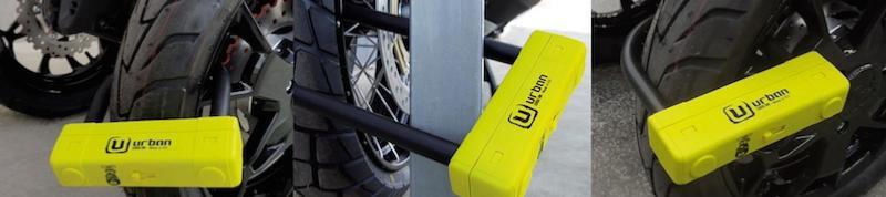 Urban UR120 antivol U SRA 3 tailles